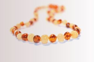 Amber teething necklaces: Are they safe?