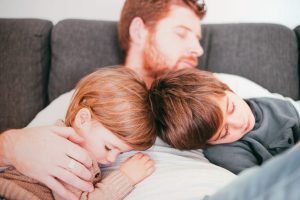 Dads don't do tired…well