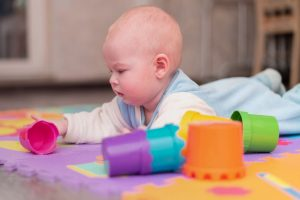 Newborn tummy time tips