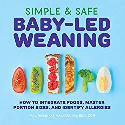 Simple and safe baby led weaning book