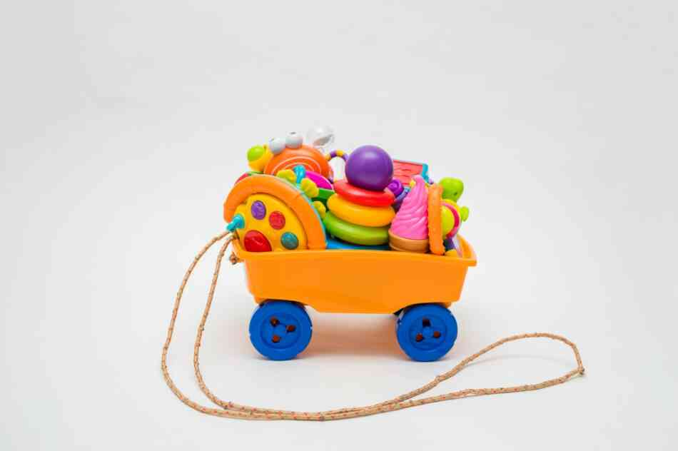 cart of toys