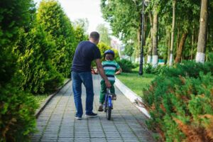 How to teach a kid to ride a bike (and overcome your own fears)