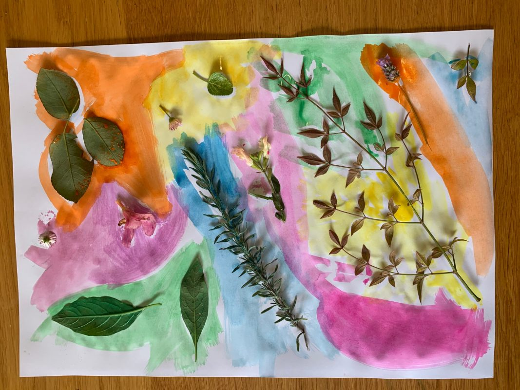 Nature collages 3
