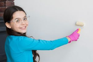 """The """"art"""" of kids' room painting"""