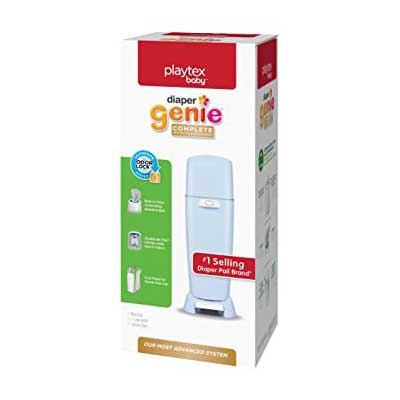 Diaper Genie Playtex Complete Diaper Pail with Built-in Odor Control