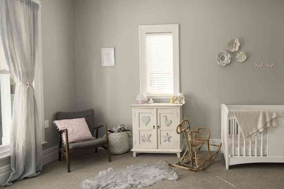 well furnished baby nursery
