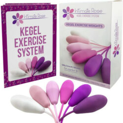 Intimate rose kegel exercise weights.