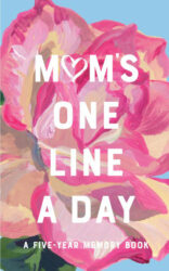 Moms-Floral-One-Line-a-Day-A-Five-Year-Memory-Book