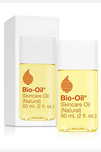 Bio-Oil Skincare Oil (Natural) for Scars and Stretchmarks with Organic Jojoba Oil and Vitamin E, Face and Skin Moisturizer, with Natural Rosehip Oil and Sunflower Oil, 2 Ounce, For All Skin Types
