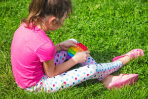 Occupational therapy for a child with SPD