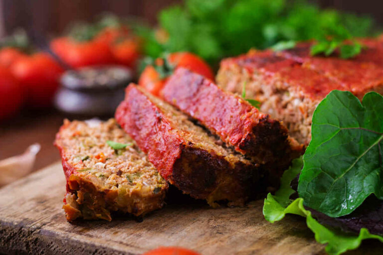 Mouth watering meatloaf