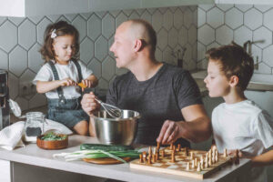 Dealing with stereotypes as a stay-at-home dad