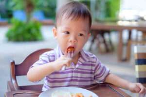 Baby gagging vs. choking: How to know the difference