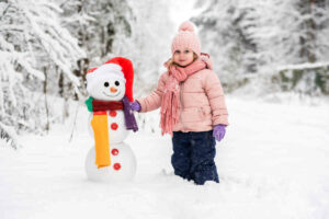 Keeping kids warm and dry in winter